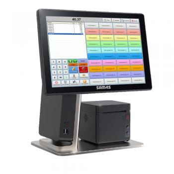Sam4s TSE 2020 Konform All in One Kassensystem Einzelhandel Friseur Textil Kiosk Imbiss Inkl. Software Windows 10